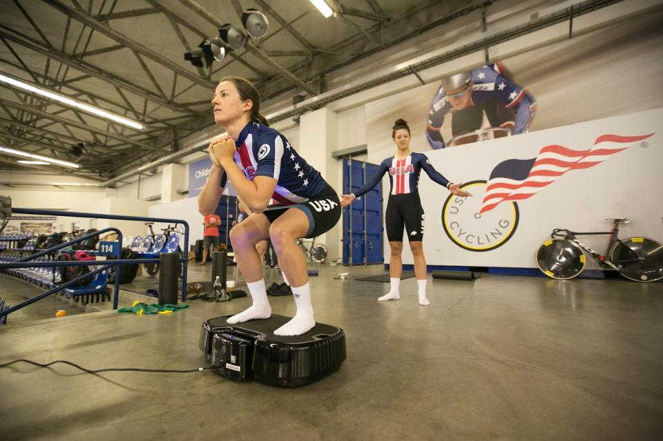 USA Cycling Team and Personal Power Plate